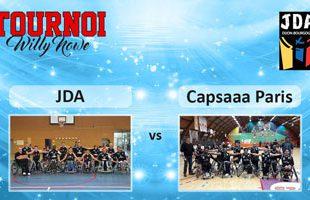 Basket Tournoi Willy Nowe - JDA vs Paris