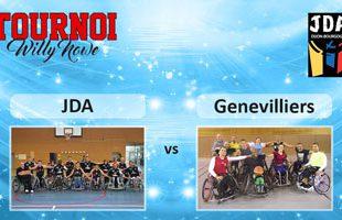 Basket Tournoi Willy Nowe - JDA vs Gennevilliers
