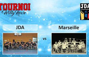 Basket Tournoi Willy Nowe - JDA vs HSB Marseille