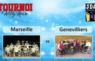 Basket Tournoi Willy Nowe - Basket HSB Marseille vs CVHG