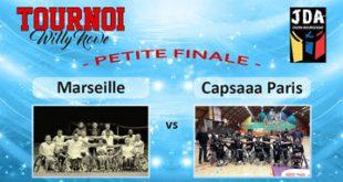 Basket Tournoi Willy Nowe - HSB Marseille vs Capsaaa Paris (petite finale)