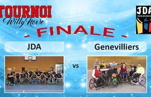 Basket Tournoi Willy Nowe - JDA vs CVHG (Finale)