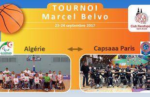 Tournoi Marcel Belvo - Paris-Algérie