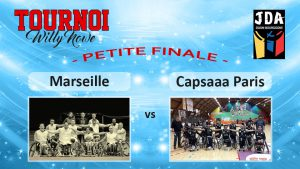 Basket Tournoi Willy Nowe – HSB Marseille vs Capsaaa Paris (petite finale)