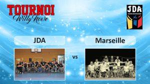 Basket Tournoi Willy Nowe – JDA vs HSB Marseille