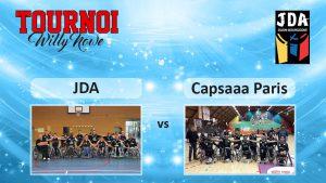 Basket Tournoi Willy Nowe – JDA vs Paris