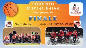 Basket Tournoi Marcel Belvo FINALE (Le Puy-en-Velay - Saint-Avold)