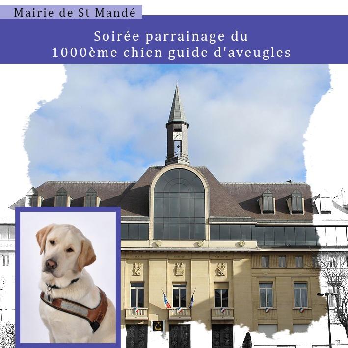 Cérémonie à l'occasion du 1000ème chien guide d'aveugles