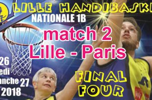Basket - Playoffs Lille match 2 - Lille vs Paris