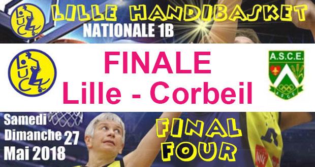 Basket - Playoffs Lille FINALE - Lille vs Corbeil